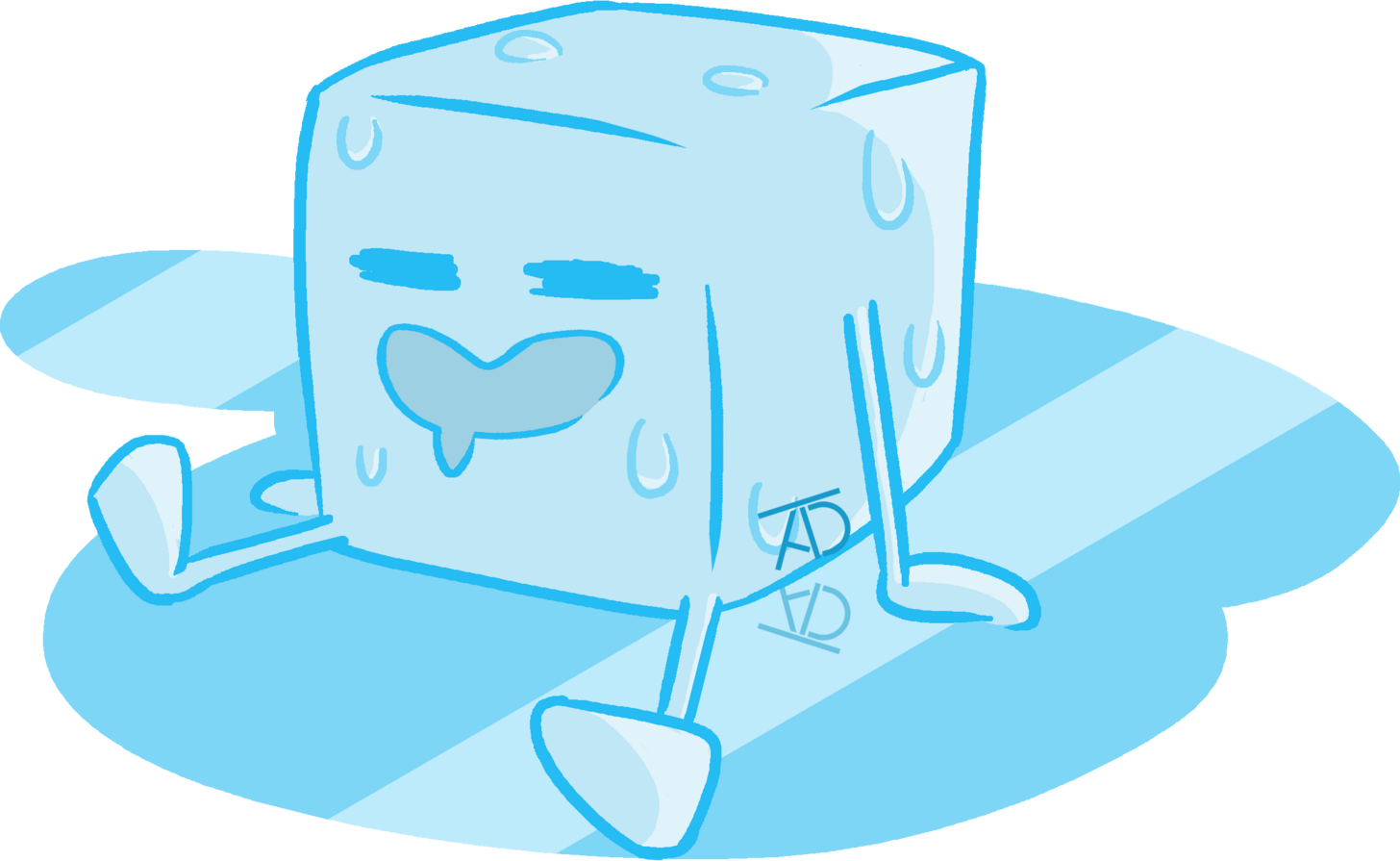 Ice cubes at getdrawings. Cube clipart drawing