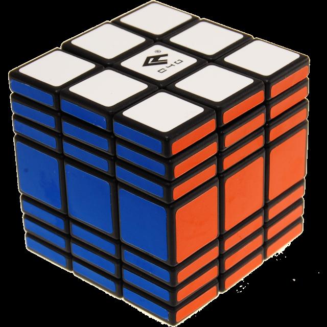 Fully functional x black. Cube clipart foam block