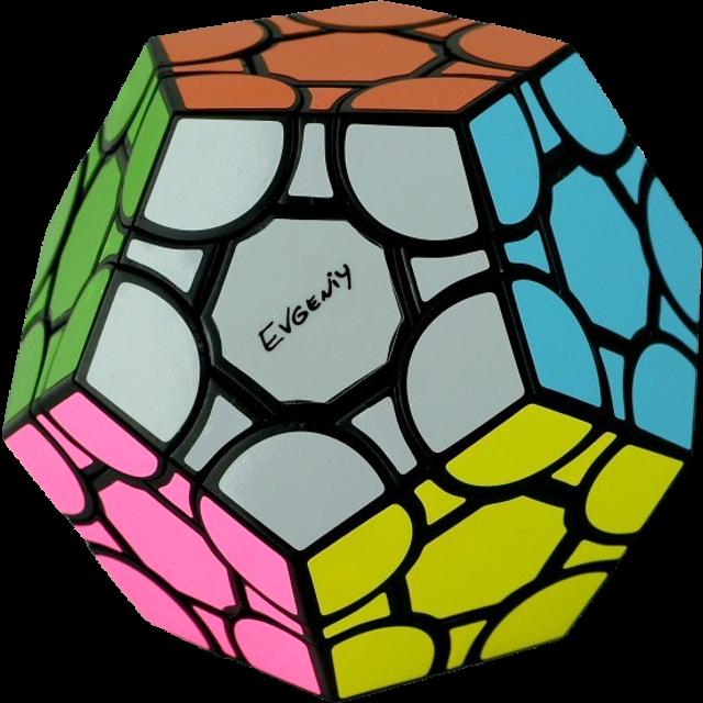 Evgeniy bubbleminx in hex. Cube clipart foam block