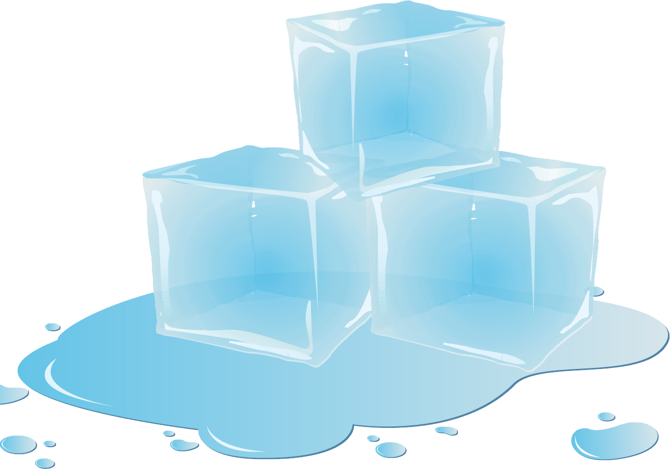 Ice png images free. Cube clipart frozen