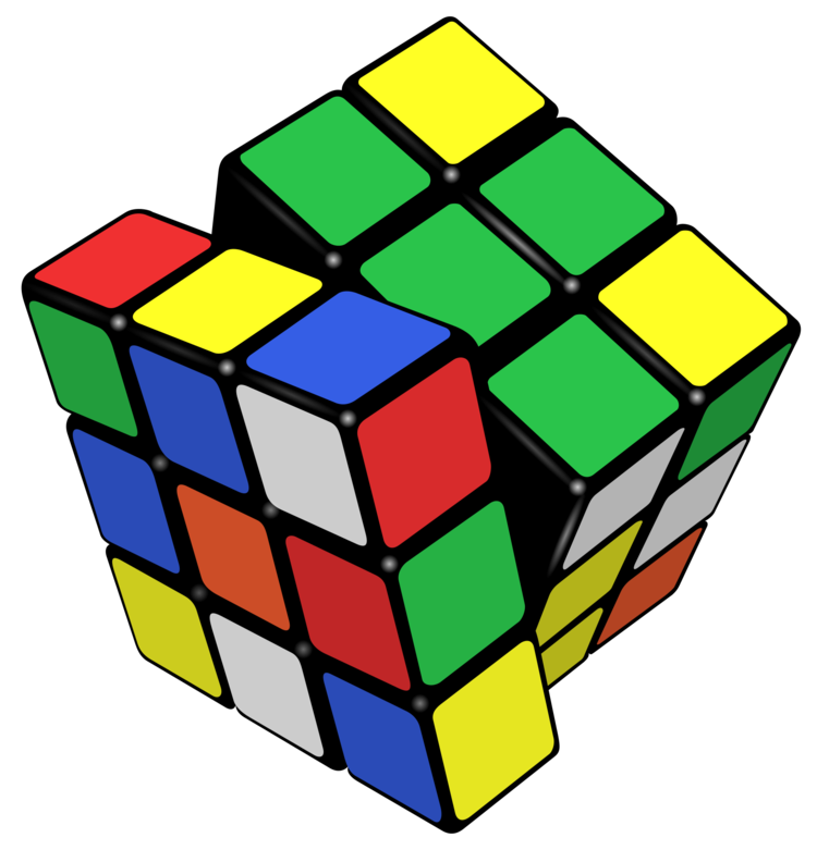 Cube clipart kid toy. Rubik s child play