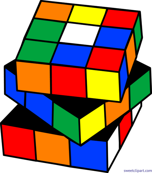 Cube clipart kid toy. Sweet clip art page