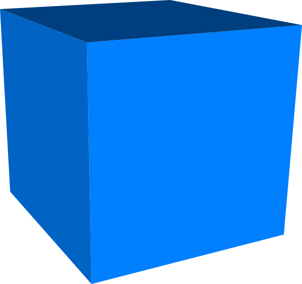 cube clipart large