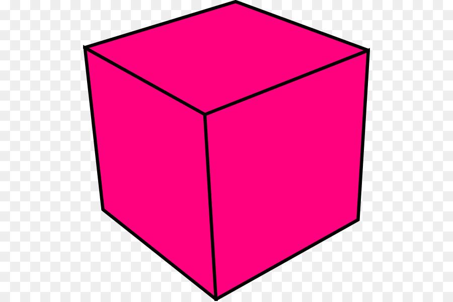 Table cartoon rectangle square. Cube clipart line art