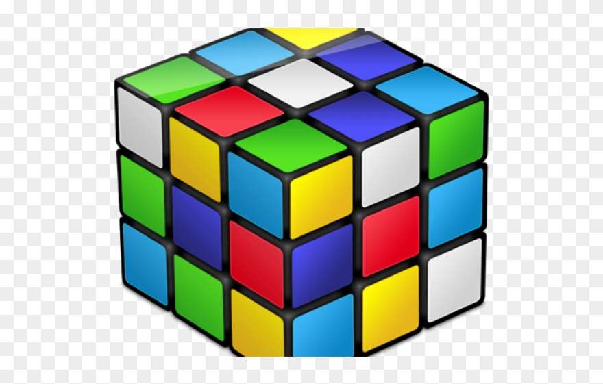 Rubik s png download. Cube clipart logical