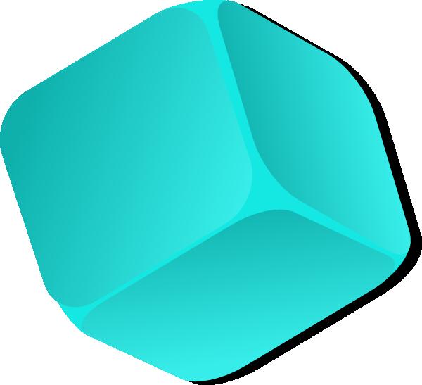 Cube clipart marbles. Blue clip art at