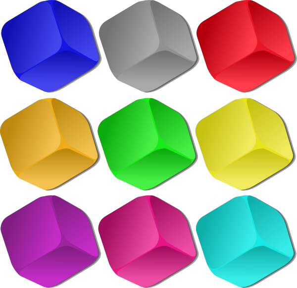 Marbles clipart clip art. Game cubes at clker
