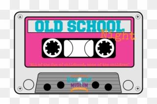 Cube clipart neon cassette tape. Free png clip art