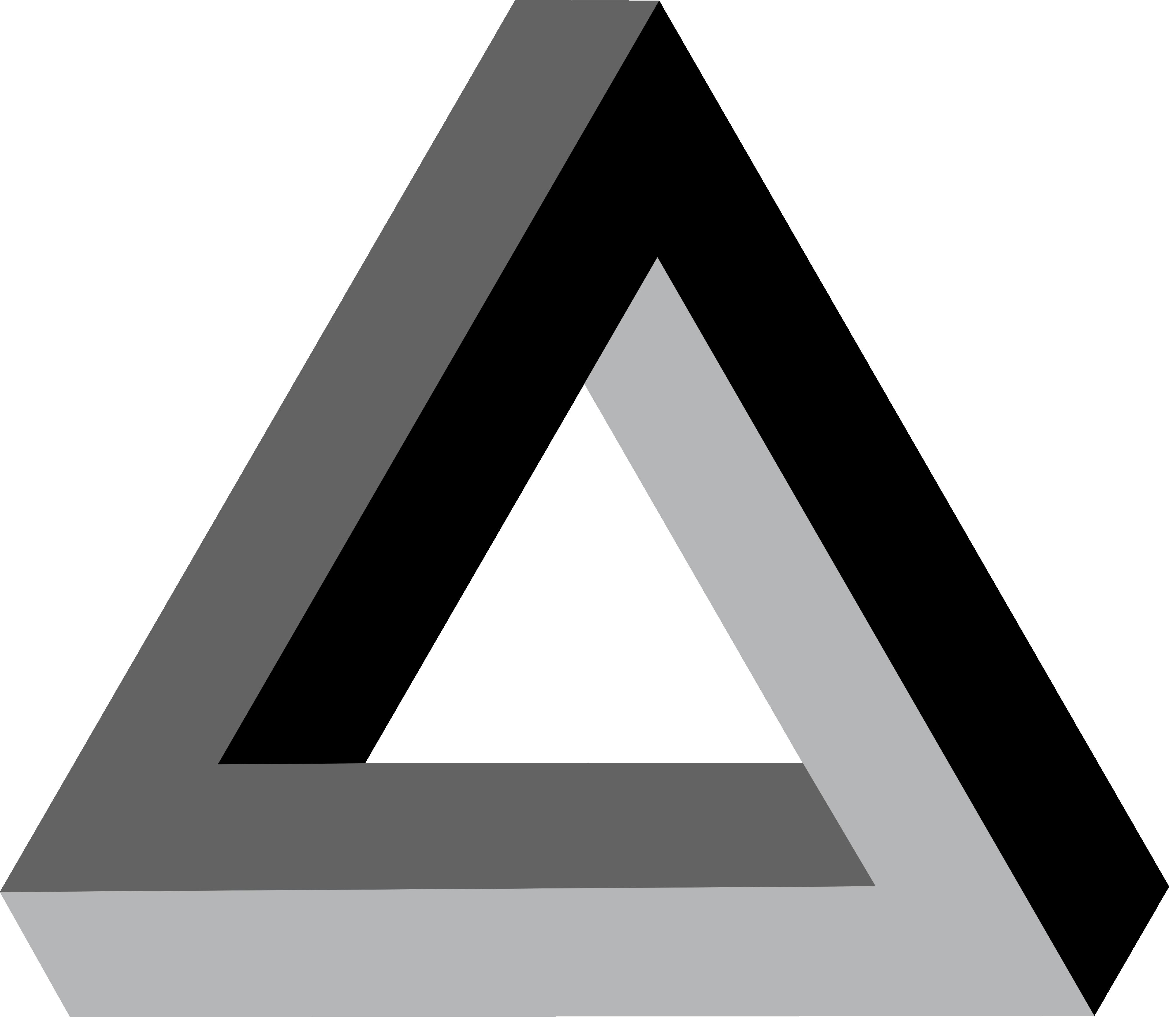 triangular clipart trippy