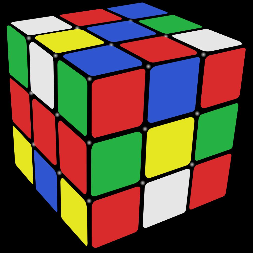cube clipart rubics cube