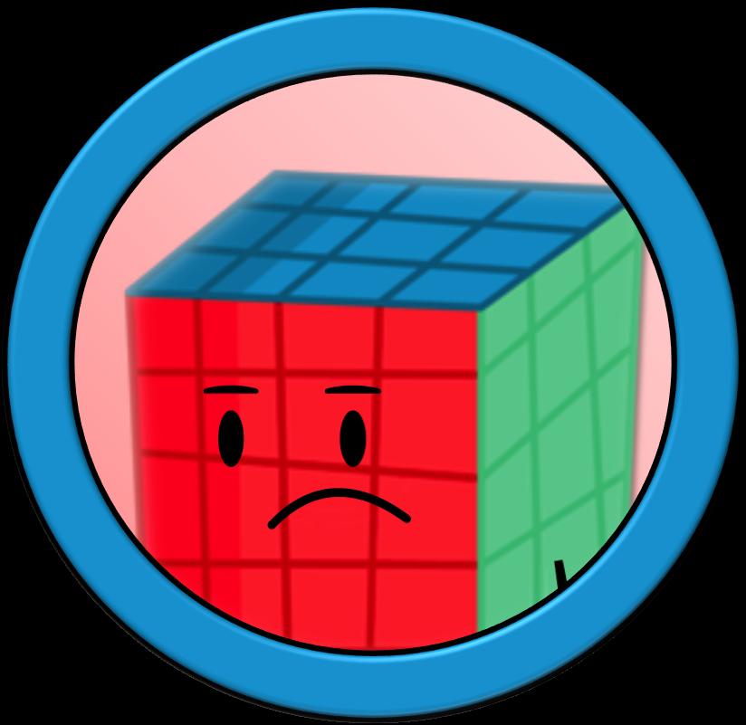 Universe twoiverse rubik cube. Square clipart square object