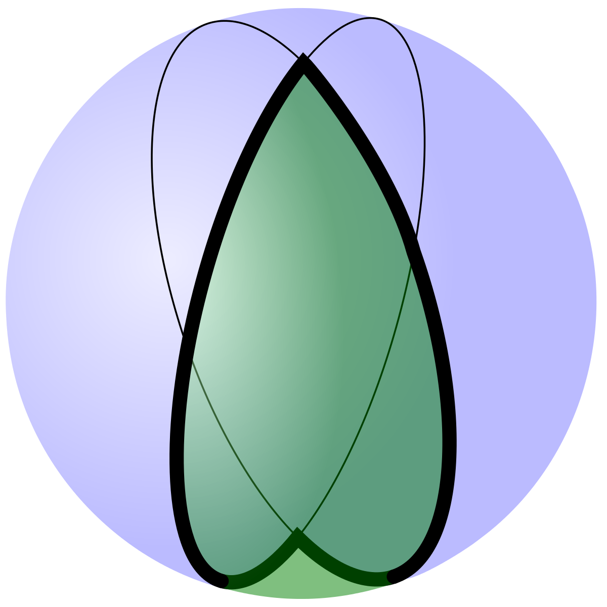 Spherical lune wikipedia . Cube clipart sphere