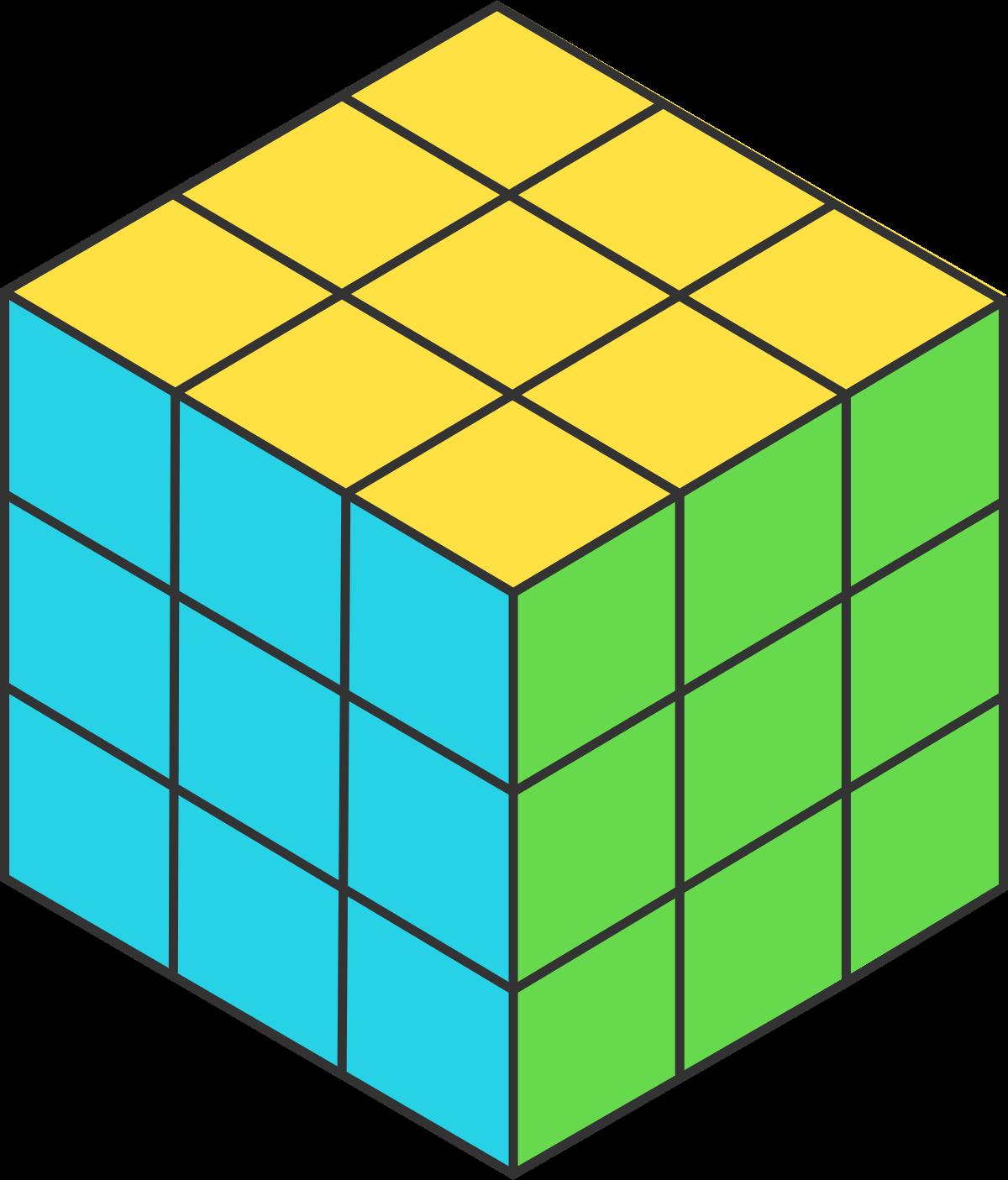 One unit cube