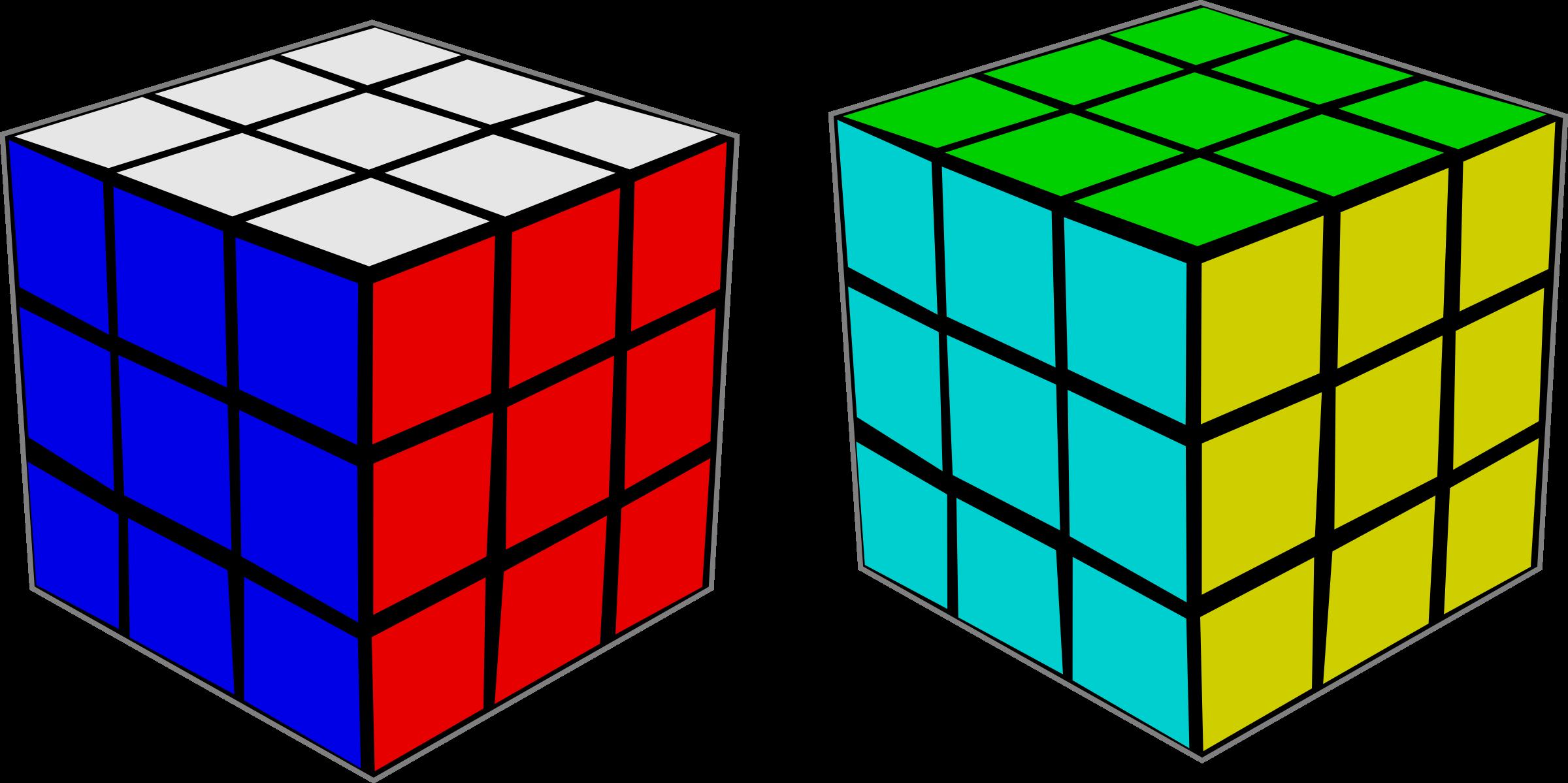 Cube clipart svg. Rubik s rubiks