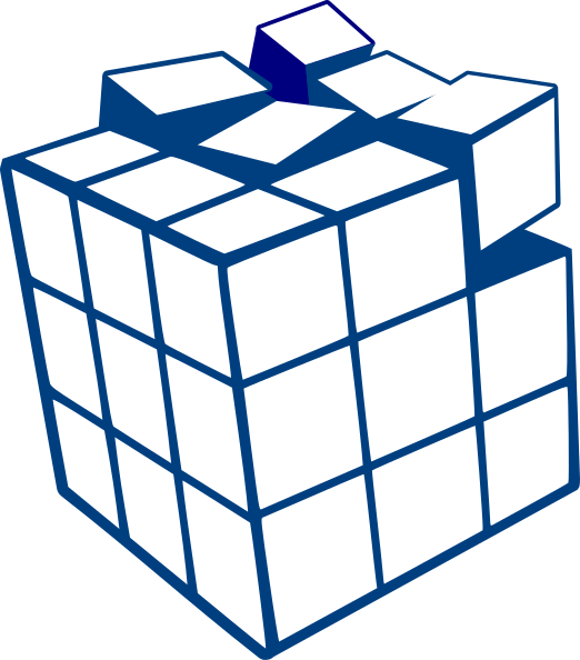 Cube clipart svg. Clip art at clker