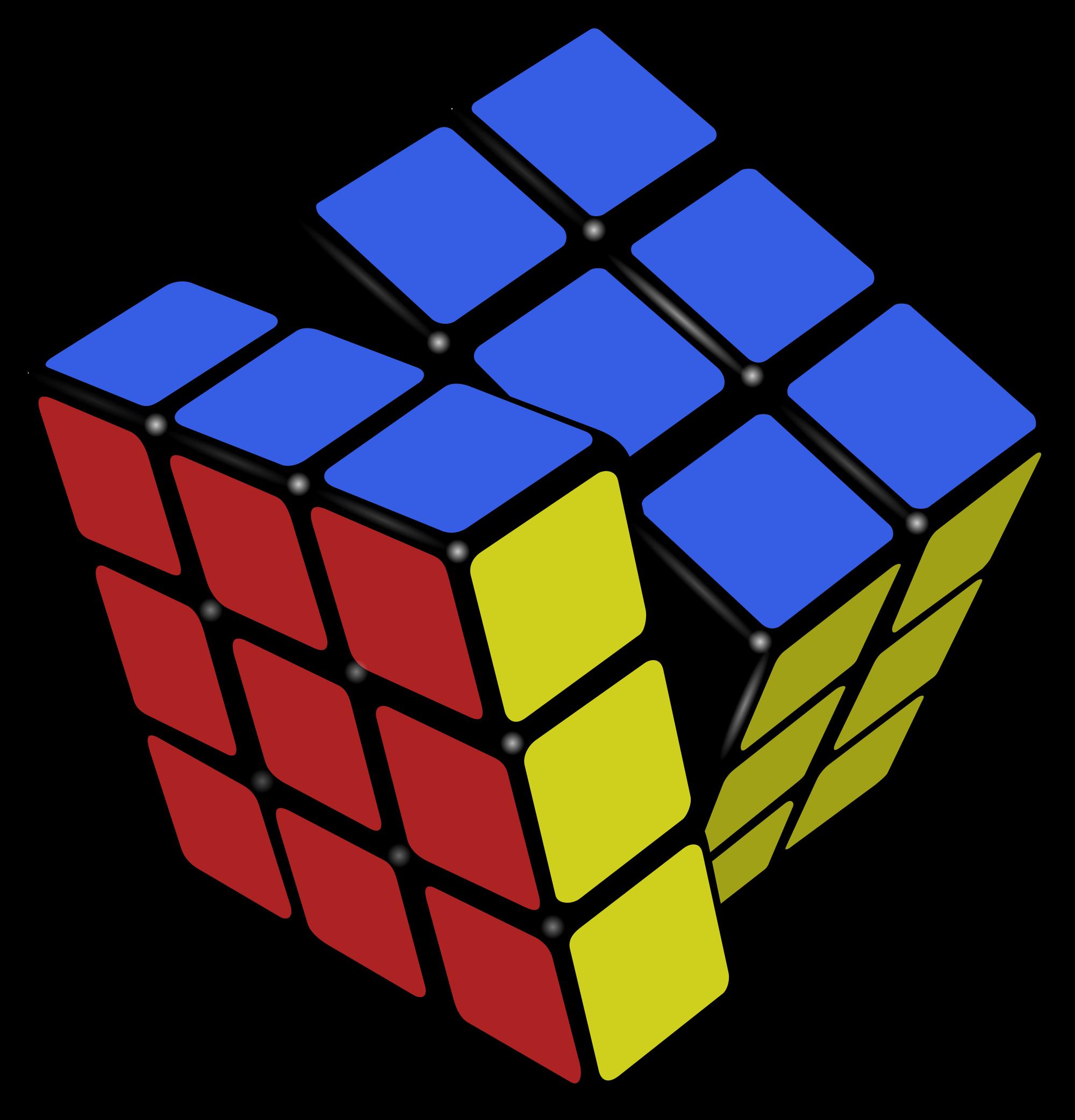 File rubik s wikimedia. Cube clipart svg