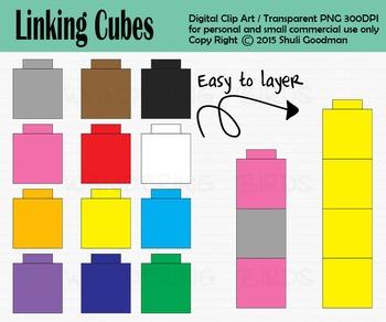 Cube clipart unifex. Linking clip art unifix