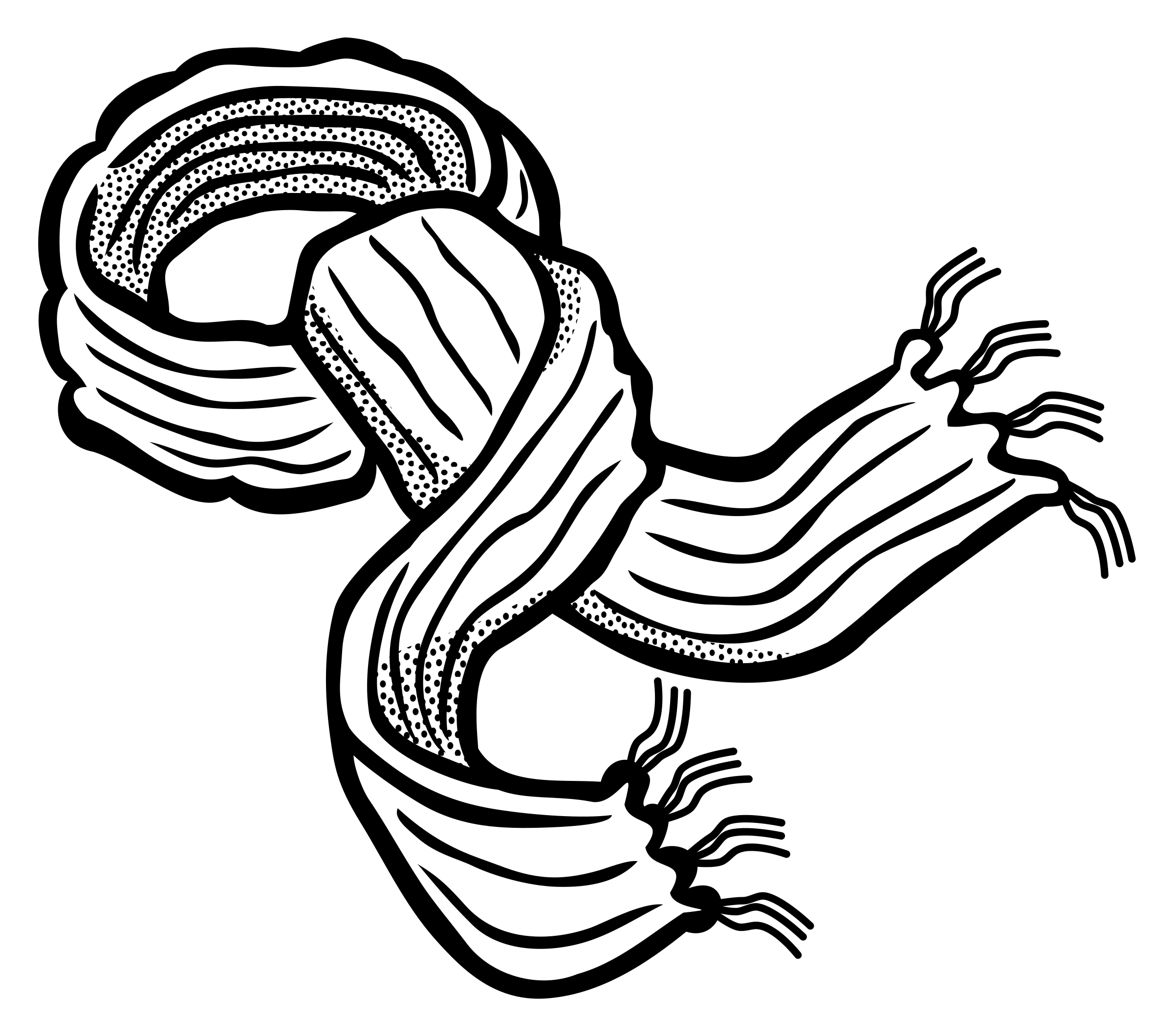 Scarf pencil in color. Gloves clipart black and white