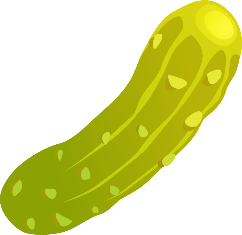 collection of high. Pickles clipart sliced