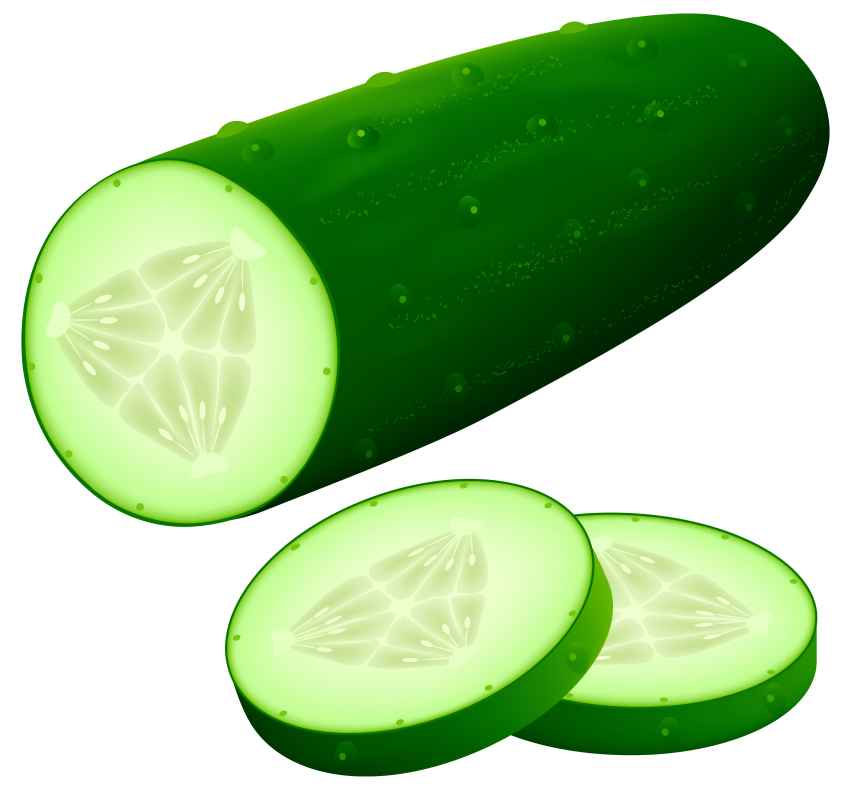 Image png free images. Vegetables clipart cucumber