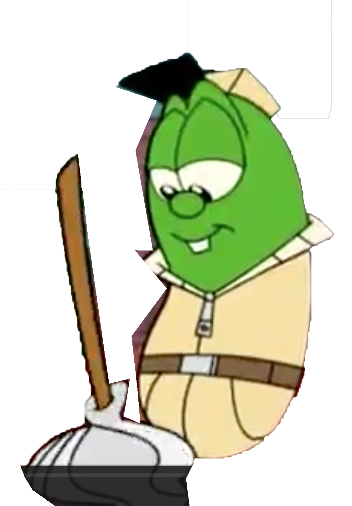 Male clipart janitor. Image animated larry as