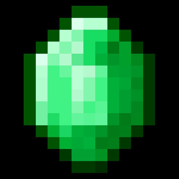Cucumber clipart minecraft. Download emerald png hq
