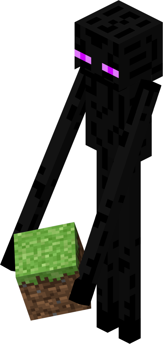 Download enderman png hq. Cucumber clipart minecraft