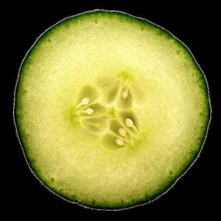Pickles cucumber slice