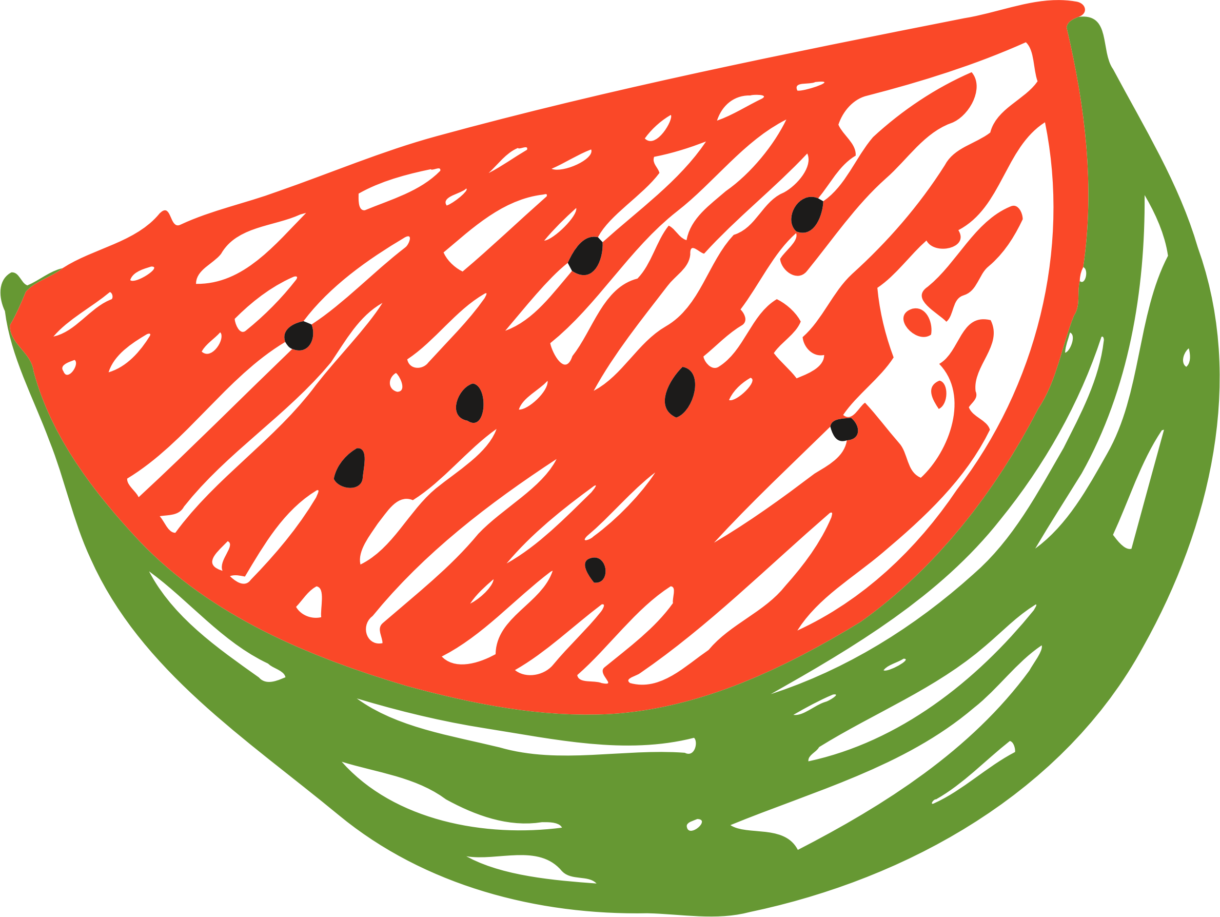 Fruit clipart watermelon. Sketched big image png