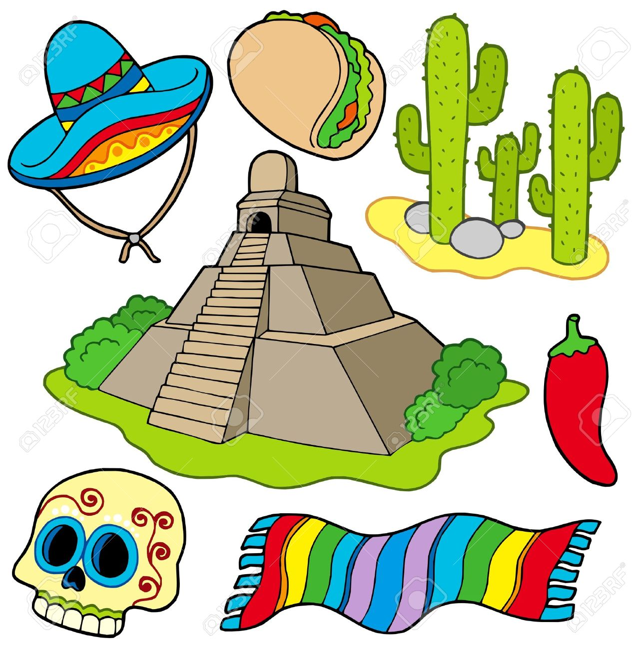 Mexican . Culture clipart