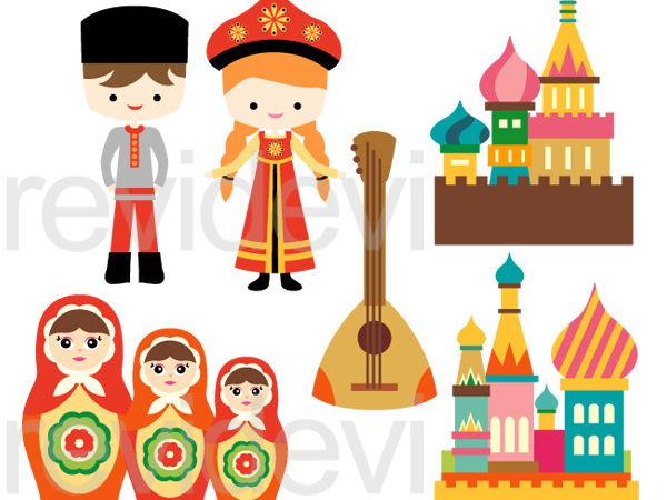 Culture clipart. Russian clip art graphics