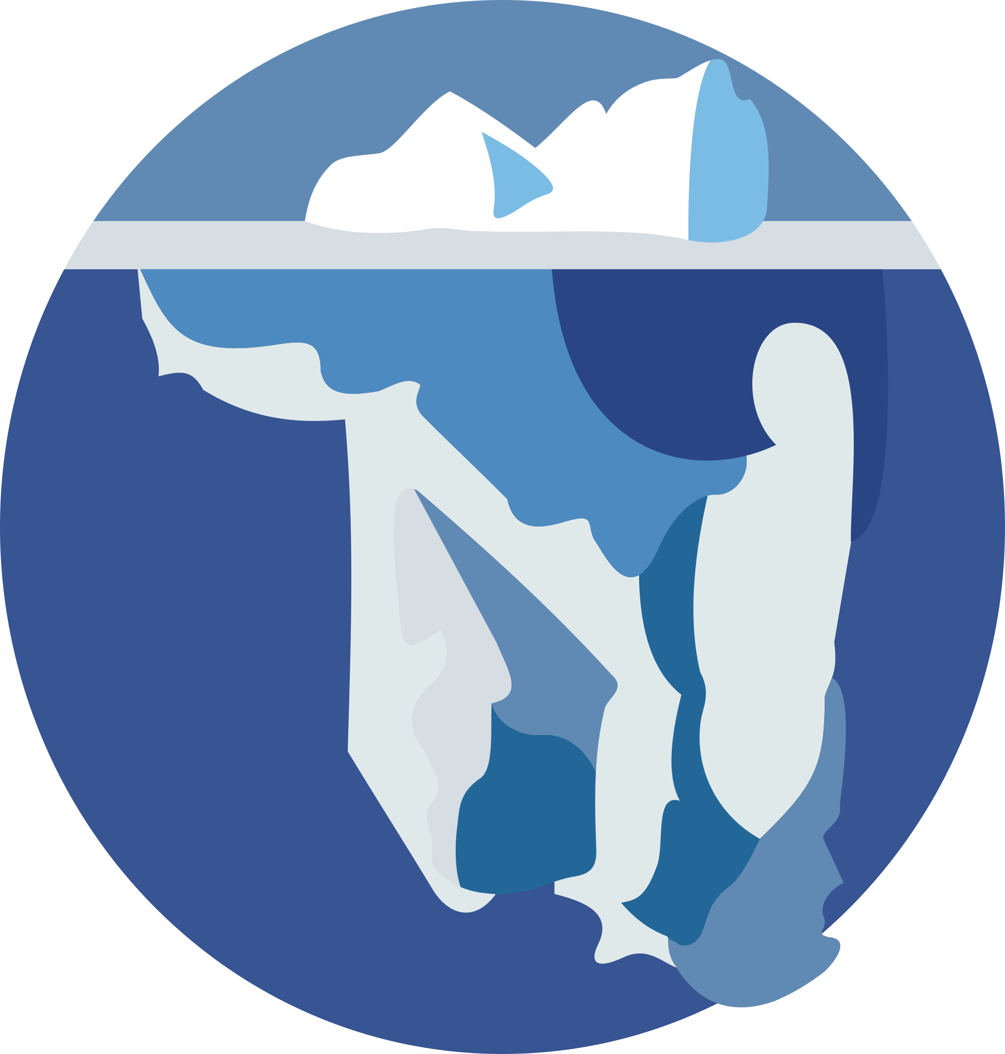 Culture is like an. Iceberg clipart svg