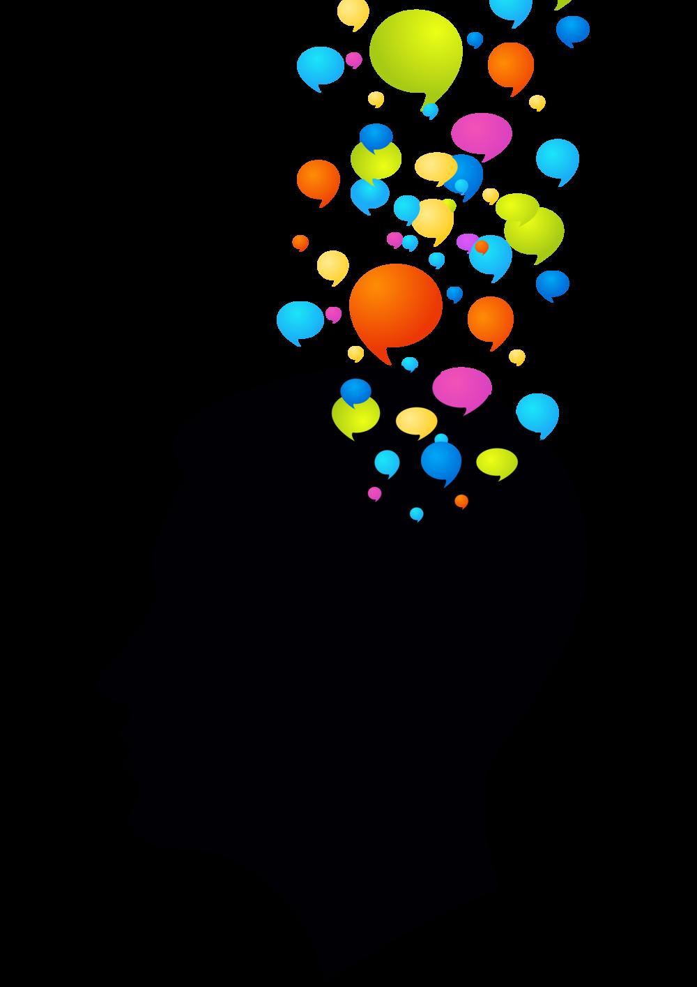 Idea clipart brain. Communication part the anthropological