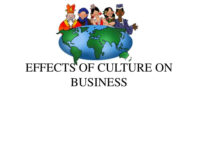 Culture clipart cultural environment. Effects of on business