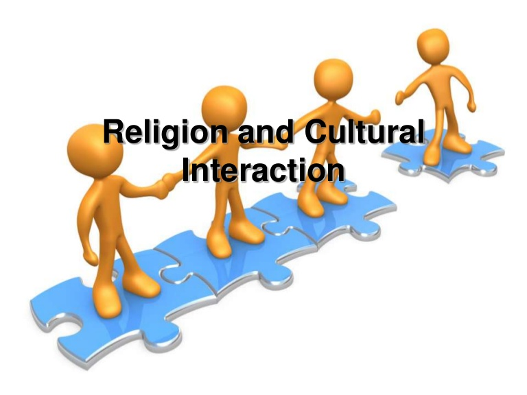 Culture clipart cultural interaction. Religion and