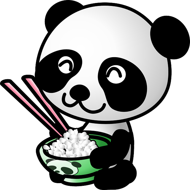 Panda china cultures pinterest. Weight clipart cute