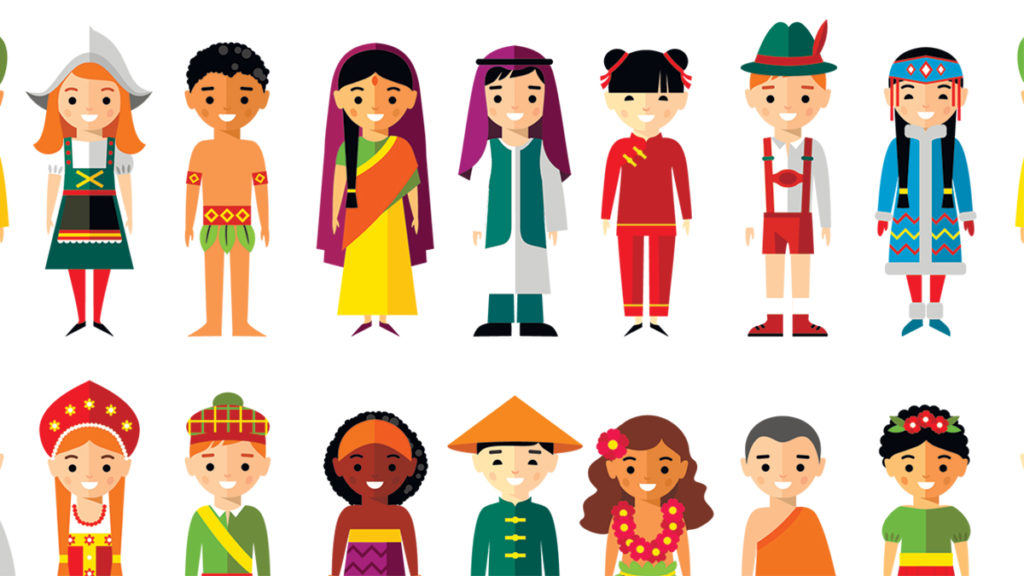 Pluralism the word is. Culture clipart different ethnic group