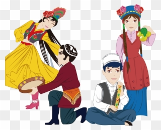 Culture clipart different ethnic group. Free png cultures clip