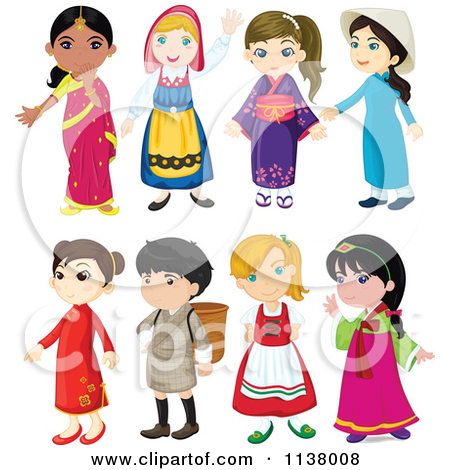 Culture clipart diffrent. From different cultures panda