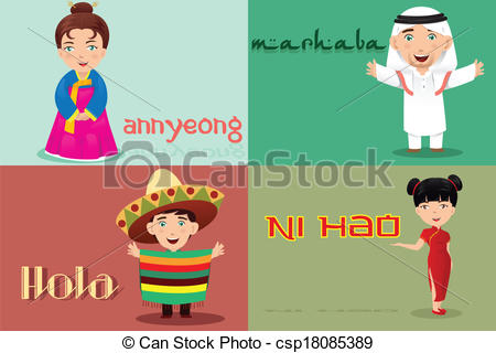 People from different cultures. Culture clipart diffrent