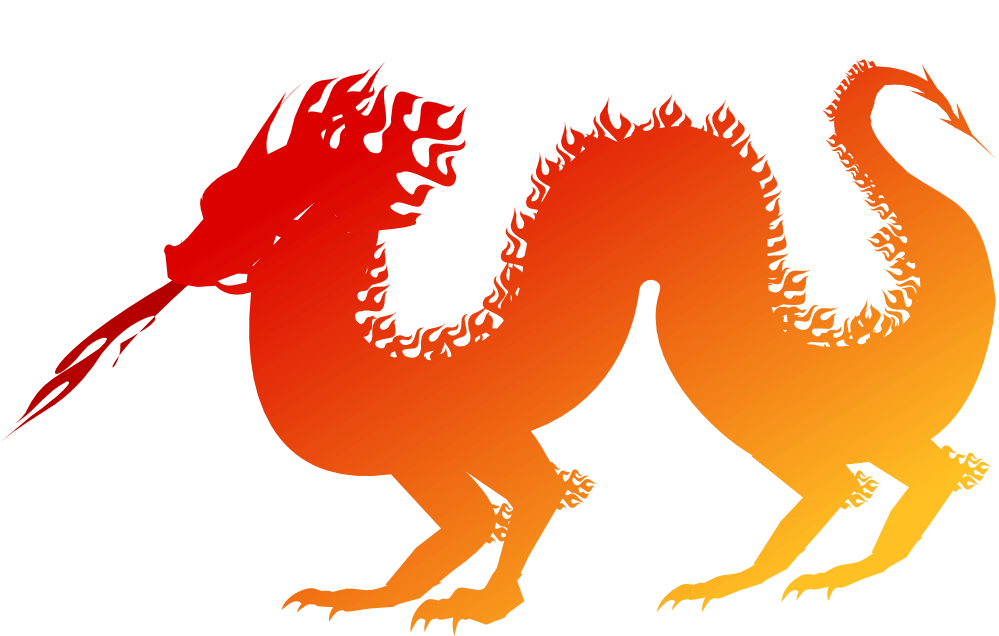 Dragon royalty free