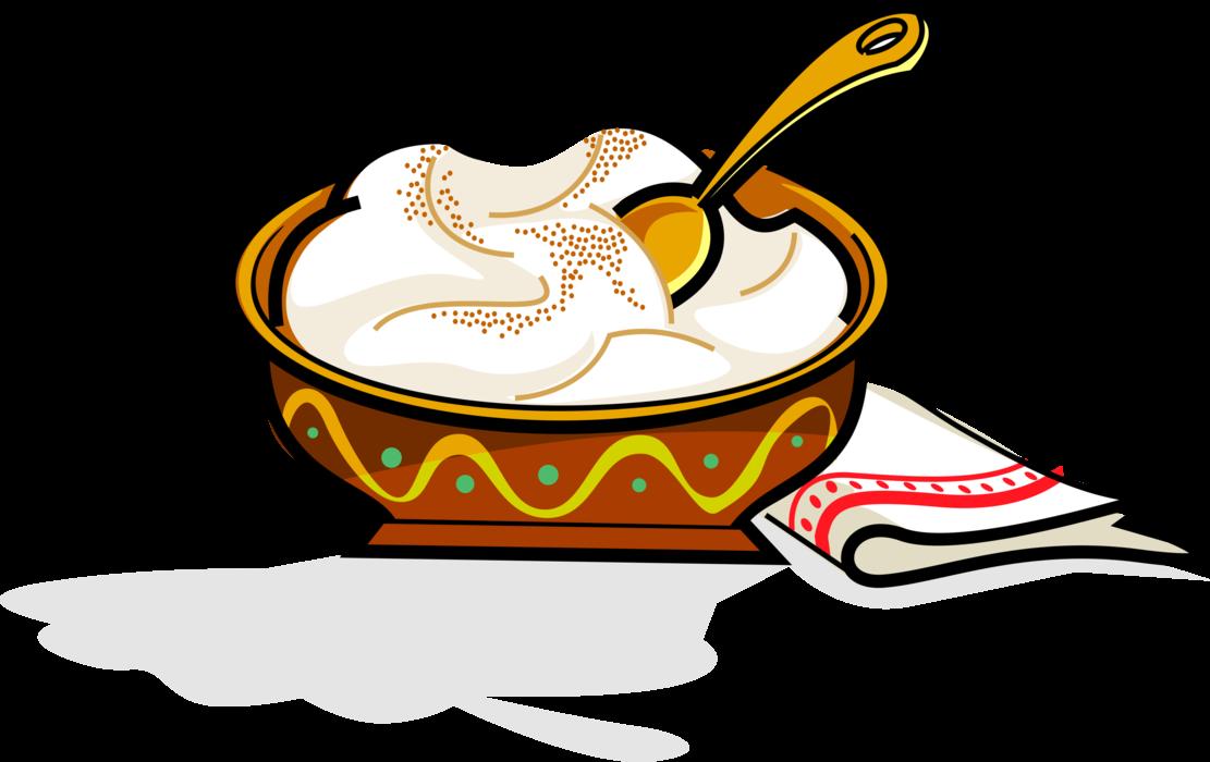 Swedish julgrot christmas pudding. Foods clipart rice