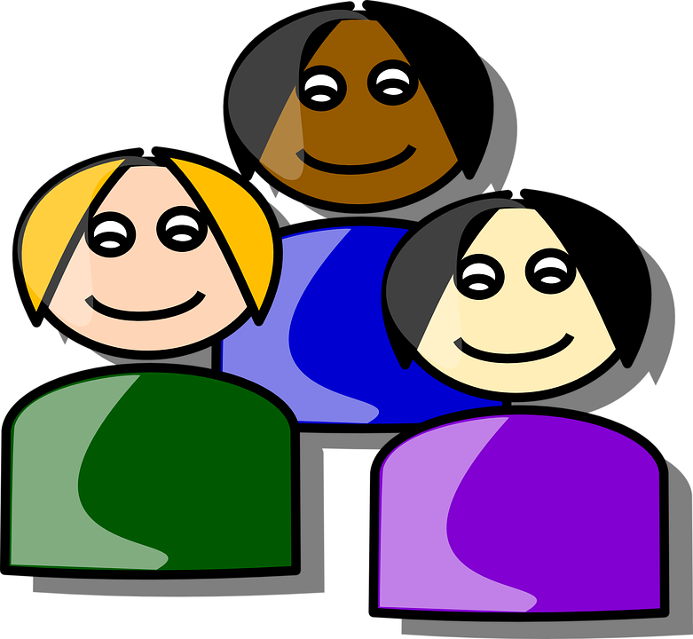 Humans clipart few person.  ways to implement