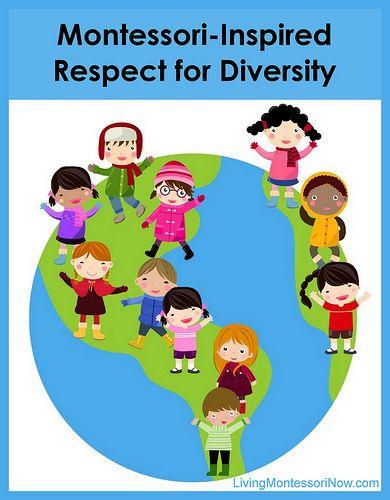 Diversity clipart childcare. Montessori inspired respect for