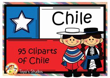 Culture clipart teacher. Chile set