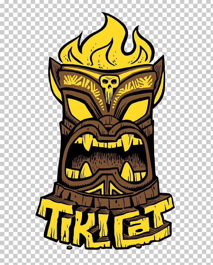 Tikicat bar png clip. Tiki clipart culture