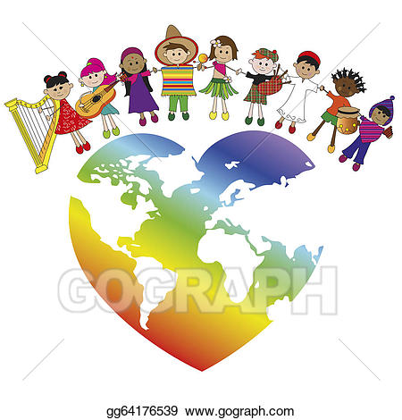 Culture clipart tolerance. Stock illustration peace gg