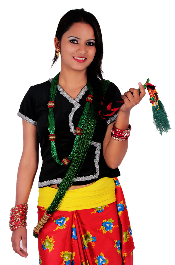 Baglung bastralaya dresses . Culture clipart traditional clothing