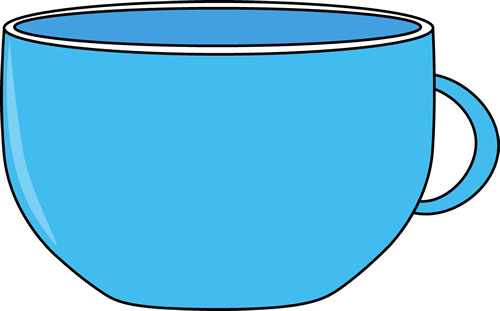 Cup clip art image. Cups clipart