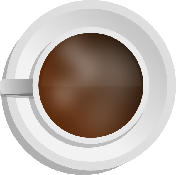 Mokush realistic coffee top. Cup clipart 6 cup
